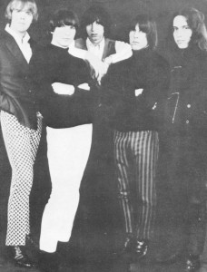 THE OTHER HALF, ca. late 1966. L to R: Jeff Nowlan, Larry Brown, Randy Holden, Danny Woody, Geoff Weston.