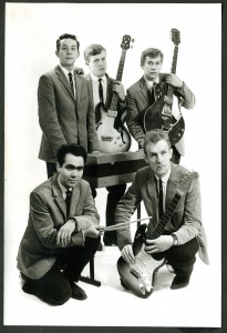 The Lunicks, ca. 1965. Back row (L to R): Oivind Jensen, Gunnar Eroy, Svein Berg. Front row (L to R): Roar Hansen, Oddvar Eroy.