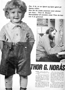 Thor as a child