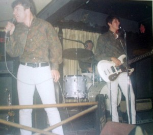 The Knickerbockers onstage in Albany, NY, 1967.